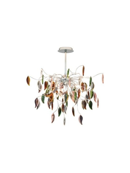 Possini Euro Design Vibrant Leaves of Light Chandelier -