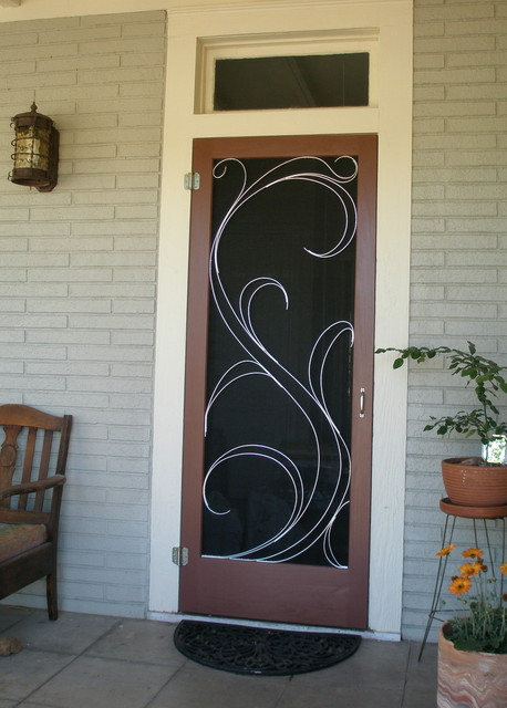Susan Wallace traditional screen doors