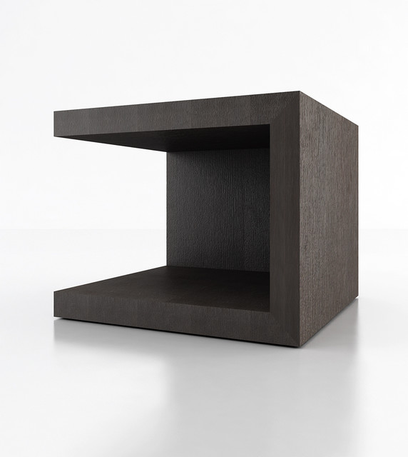 Ludlow contemporary modern nightstand by modloft for Modern bedside tables nightstands