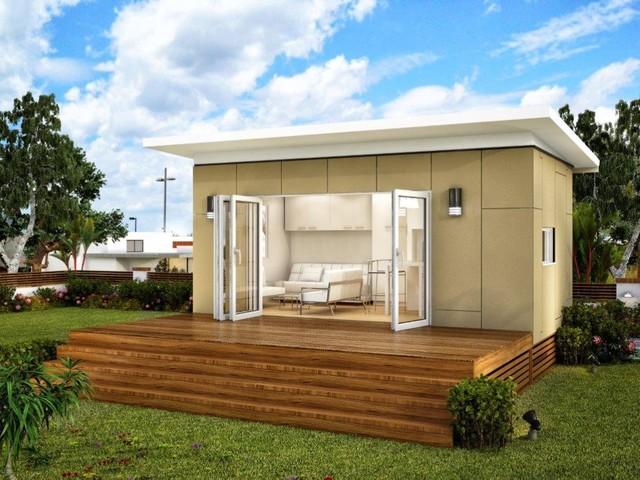 Torino Luxury Granny Flats Studio Modular Home Modern