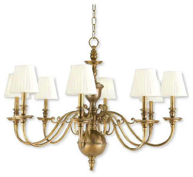 Antique Completely Copper Chandelier Contemporary