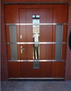 Modern exterior door model 060 contemporary front for New model front door