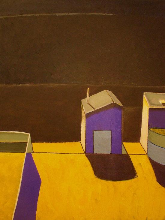 Midnight at Thiebaud's - Acrylic on canvas, 5' x 6'.