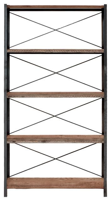 Topanga 5-Tier Bookcase - Rustic - Bookcases - by Blake Avenue