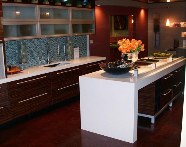 Blizzard 2141 caesarstone kitchen countertop contemporary kitchen