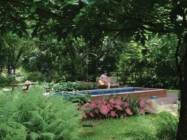 Original Endless Pools®, Garden Pool traditional-swimming-pools-and-spas