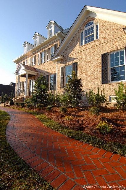 Custom Home in Woodcreek Farms traditional-exterior