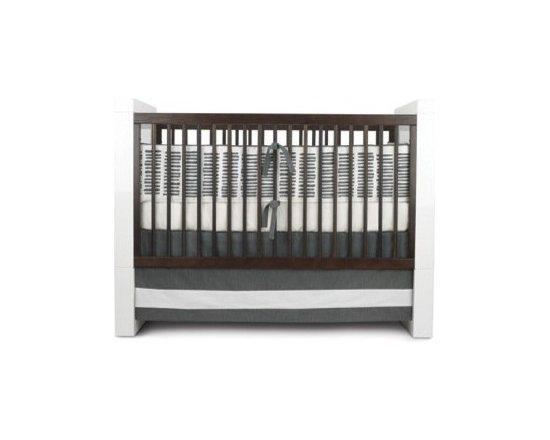 Oilo Pewter Sticks Crib Set - Oilo Pewter Sticks Crib Set