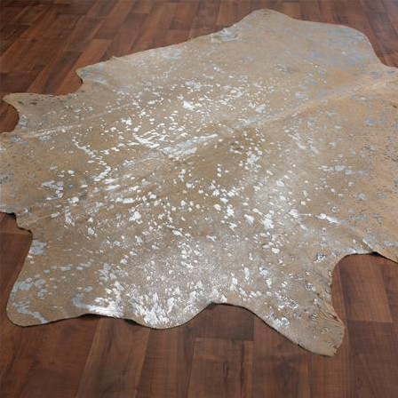 Metallic Cowhide Rug Eclectic Rugs By Shades Of Light