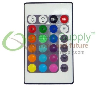 Wireless IR Remote for Color Changing Flexible LED Strip Light Kit kitchen-island-lighting