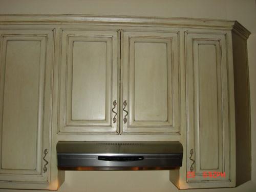 Antique Cabinet Refinish Austin - Faux Painting - Traditional - austin ...