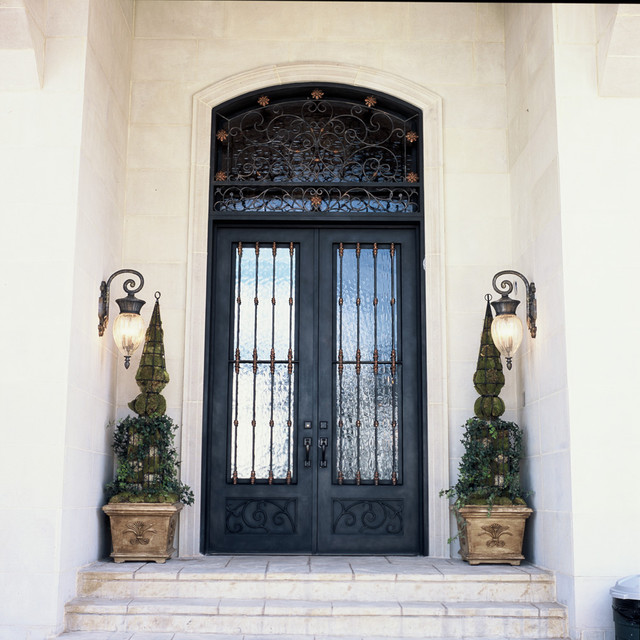 Elegante iron front doors dallas by elegante iron inc for Elegant front doors