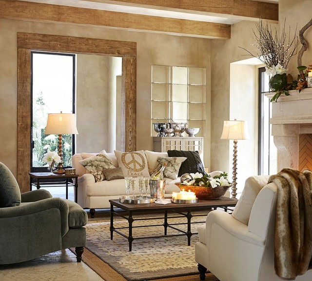 CARLISLE UPHOLSTERED SOFA Traditional Sofas By Pottery Barn