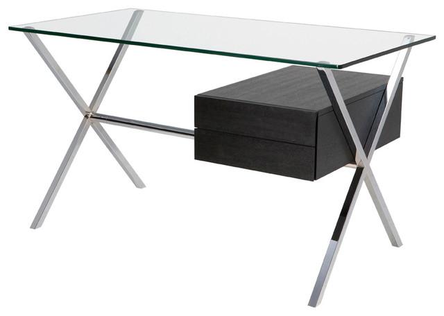 Xavier Desk, Ash Veneer modern-desks