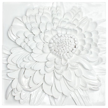 Chrysanthemum Plaque modern artwork