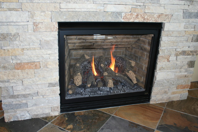 Sunroom Addition fireplaces