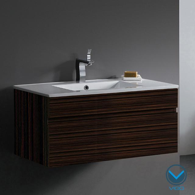 Vigo 35-inch Single Bathroom Vanity contemporary-bathroom-vanities-and-sink-consoles