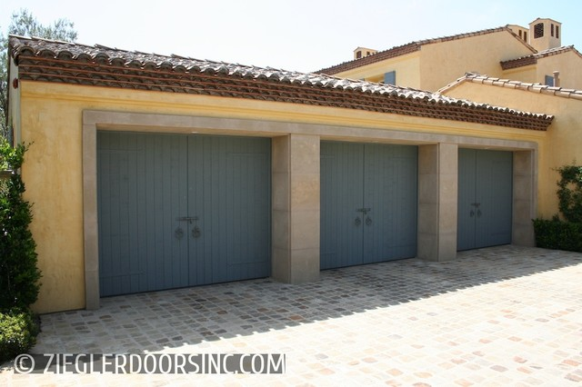 Custom designed french ch teau european garage doors for European garage doors