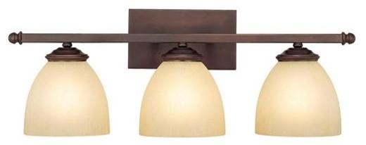 3 Light Vanity Fixture modern-bathroom-vanity-lighting