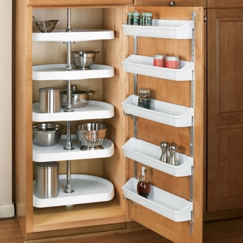 Rev A Shelf D Shaped 5 Shelf Pantry Lazy Susan Contemporary Cabinet