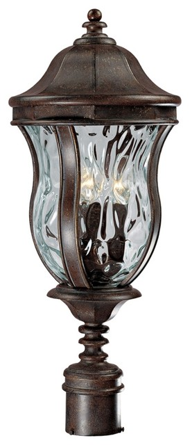 """Monticello Collection 23 1/2"""" High Outdoor Post Light traditional-post-lights"""