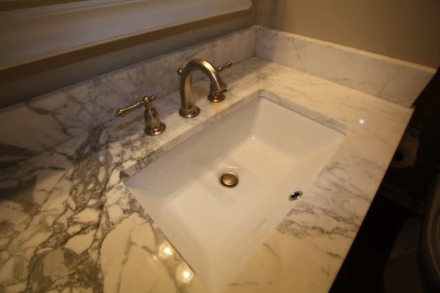 Undermount Sink Contemporary Bathroom Sinks