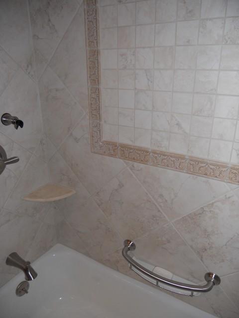 Custom Tiled Showers traditional-bathroom