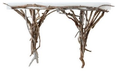 Driftwood Console contemporary-buffets-and-sideboards