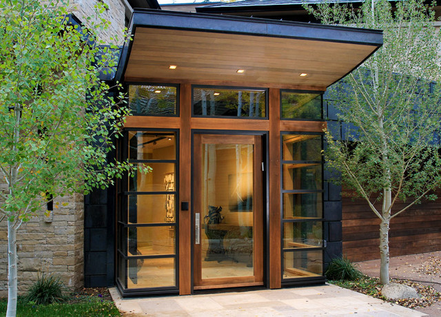 Modern and contemporary window designs for Door design houzz