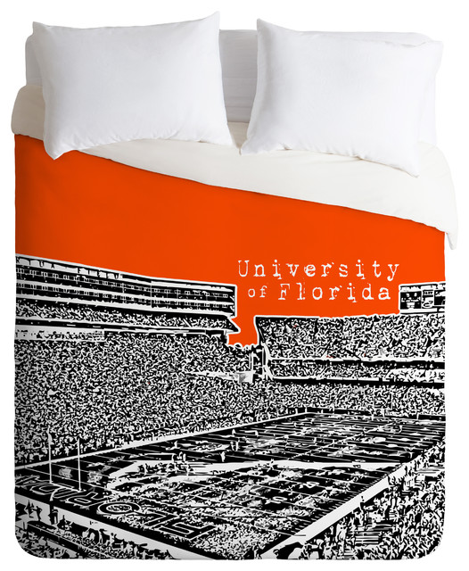 Bird Ave University Of Florida Orange Duvet Cover contemporary-duvet-covers-and-duvet-sets