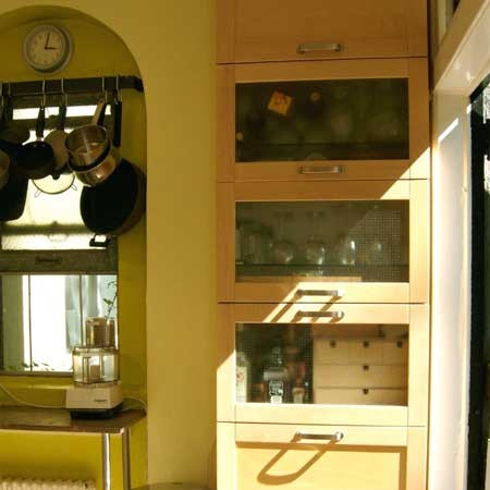 Built In Kitchen Cabinets Small Smart Upgrades For A Small Space Photos