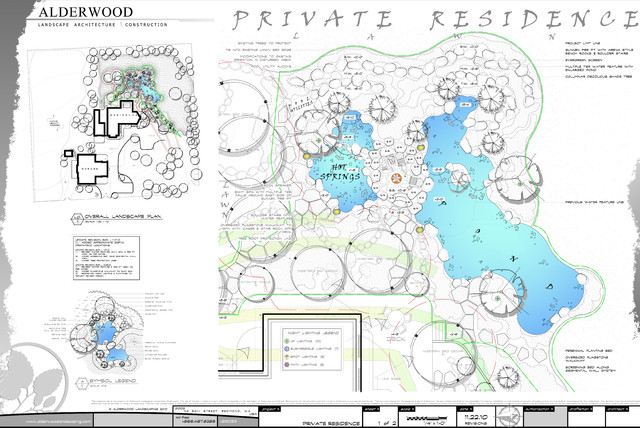 Landscape Architectural Design traditional-site-and-landscape-plan