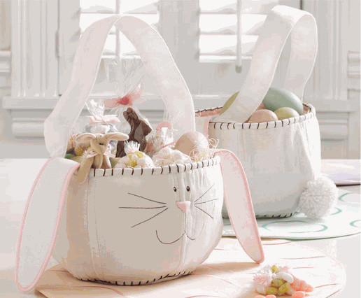 Bunny Easter Basket by tag® contemporary holiday decorations