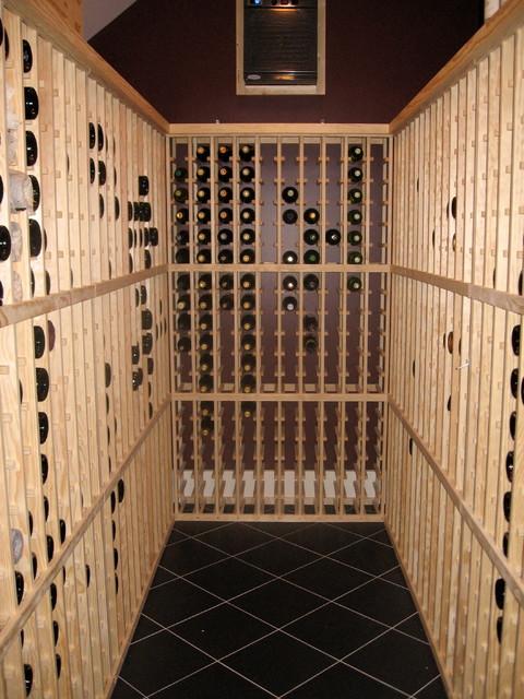 Customer Cellars traditional-wine-cellar
