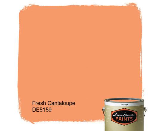 Dunn-Edwards Paints Fresh Cantaloupe DE5159 -