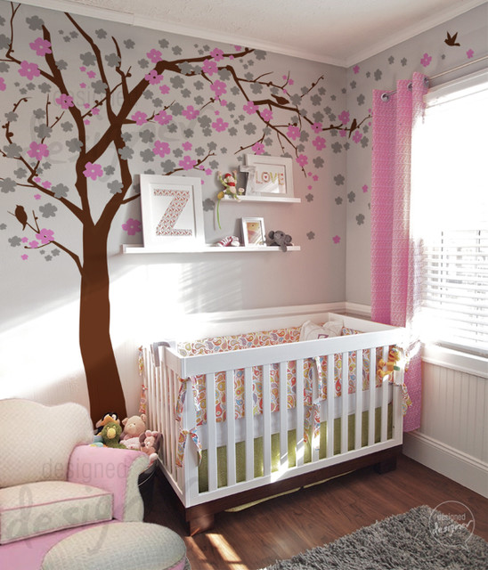 Nursery wall decorations best baby decoration for Baby room decoration pictures