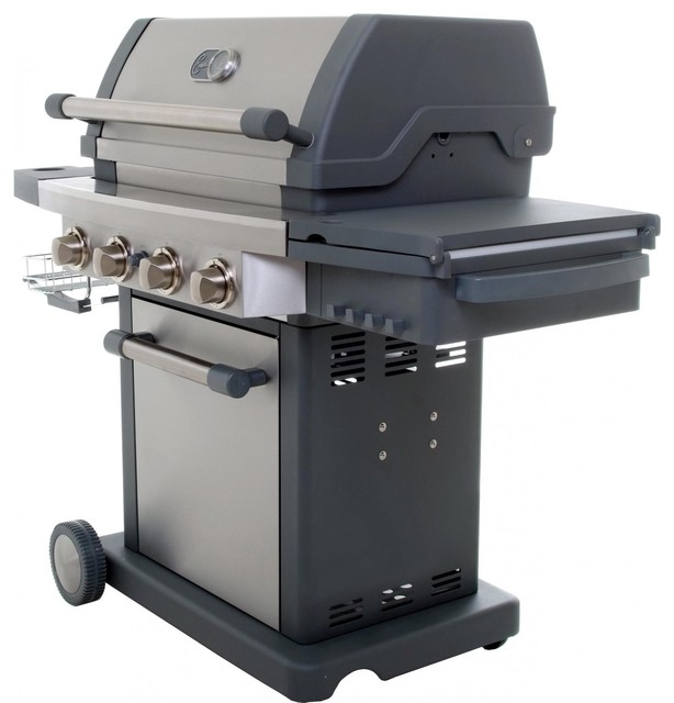 Emeril eg300 4 burner propane gas grill by viking culinary for Viking professional outdoor grill