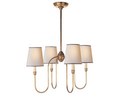 Vendome Small Chandelier traditional-chandeliers