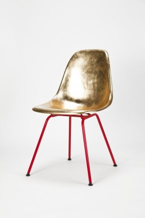 Eames Side Chair Golden midcentury-living-room-chairs