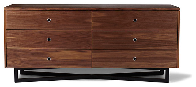 The Utility Collective - Cross Dresser 6 Low modern dressers chests and bedroom armoires