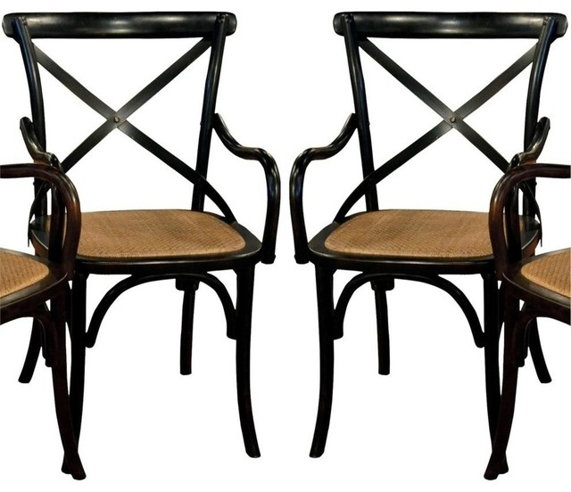 pair bentwood dining arm chairs glossy traditional dining chairs