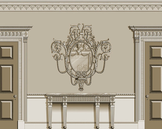 Doors - Agrell Architectural Carving - 18th Century Neoclassical - Federal - Adam style doors
