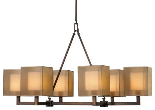 Quadralli No. 331440 Linear Chandelier by Fine Art Lamps contemporary-chandeliers