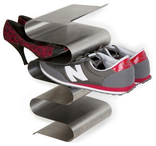 Nest Shoe Rack, Wall Mounted - Modern - Shoe Storage - by Convenient ...