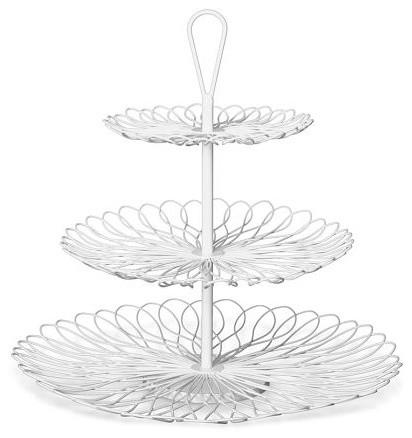Wire Cupcake Stand modern-serveware
