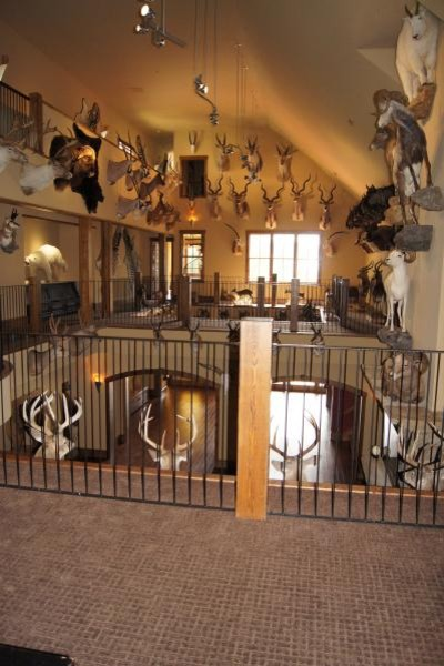 Bland Trophy Room addition and remodeling project