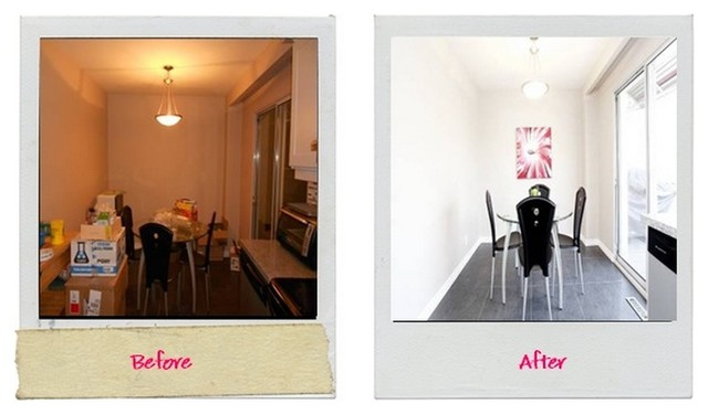 Durie St. Staged Home Before / After Shots contemporary