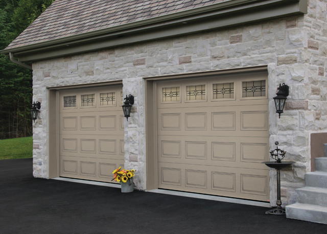 H Tech Double Garage Doors Modern Garage Doors And