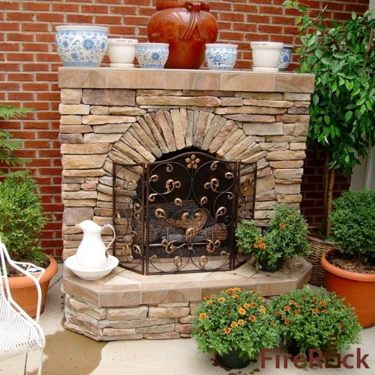 FireRock Outdoor traditional patio