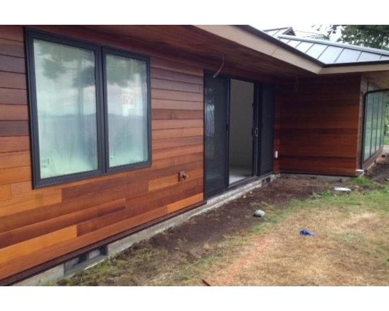 Clear Vertical Grain Western Red Cedar Siding -